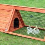 Як легко і швидко зробити клітку для кроликів своїми руками: розміри і креслення
