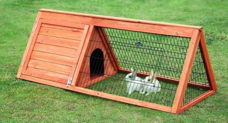 Як зробити клітку для кролика