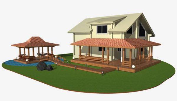 Проект тераси
