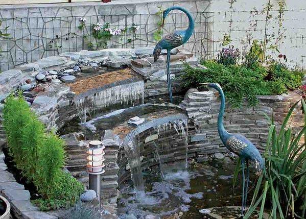 Варіант фонтану відкритого типу